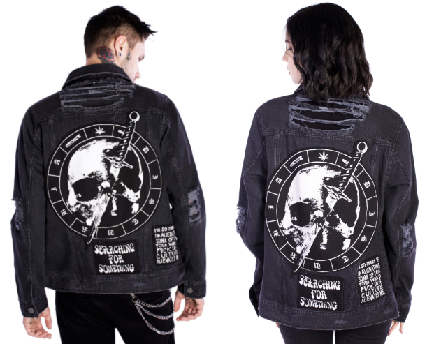 Disturbia Mosh Jacket Men Women