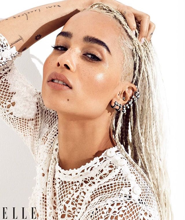 Zoe Kravitz for Elle