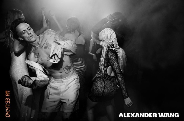 zoe kravitz Alexander wang shots
